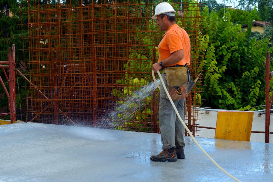 La importancia del curado del concreto en obra